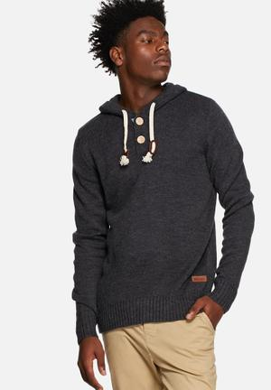 Only & Sons Brayden Knit Hood Knitwear Dark Navy