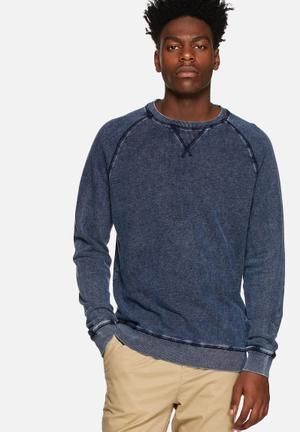 Only & Sons Damien Sweat Hoodies & Sweatshirts Indigo