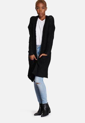ONLY Zadie Cardigan Knitwear Black