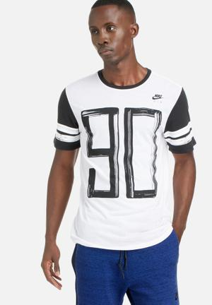 Nike Airmax 90 Tee T-Shirts White / Black