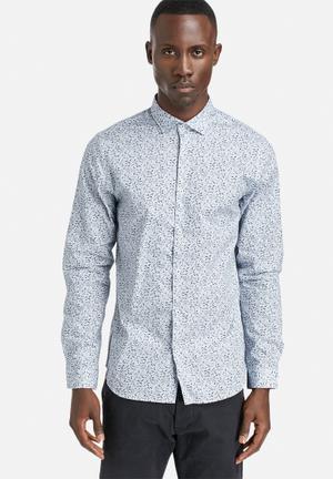 Jack & Jones Premium Rack Mix Shirt White / Navy