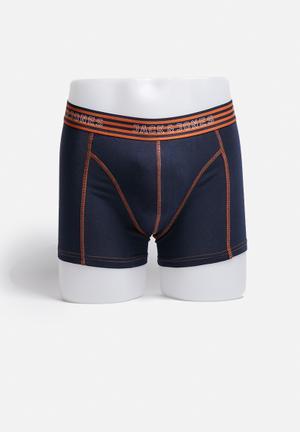 Jack & Jones Footwear & Accessories Simple Contrast Trunks Underwear Navy