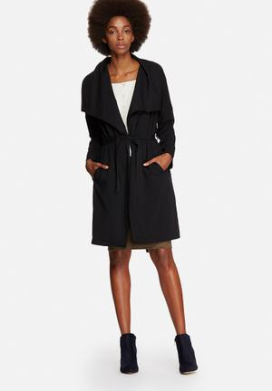 Vero Moda Raina Trench Coat Black