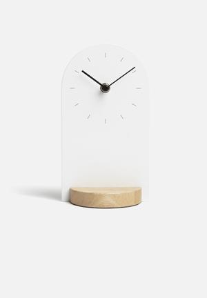 Umbra Sometime Clock Accessories Metal / Wood
