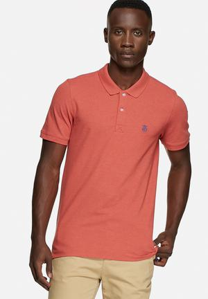 Selected Homme Daro Polo Shirt T-Shirts & Vests Tandori Spice