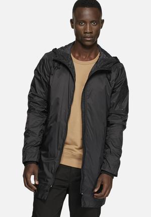 Selected Homme Ohio Long Jacket Black