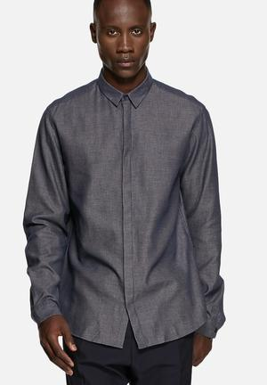 Selected Homme Wobow Shirt  Dark Sapphire