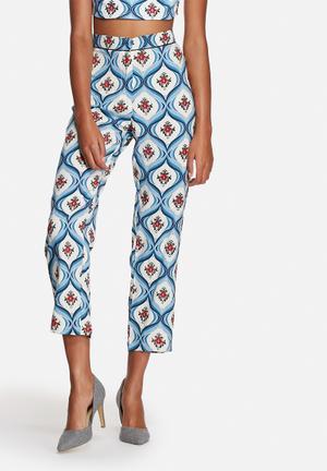 Motel Gerson Pants Trousers Blue