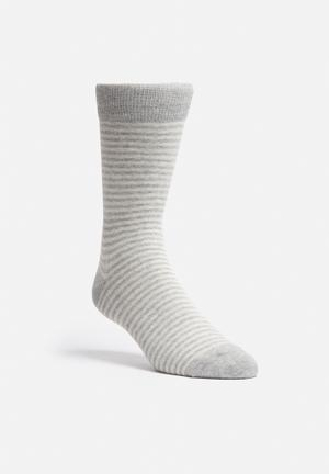 Jack & Jones Footwear & Accessories Curt Socks Grey Melange / White