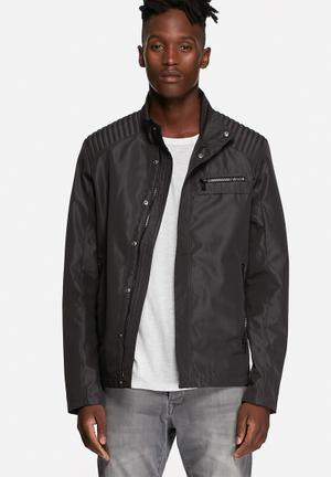 Only & Sons Lasse Biker Jacket Black
