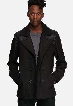 Dstruct Parlour Coat Black