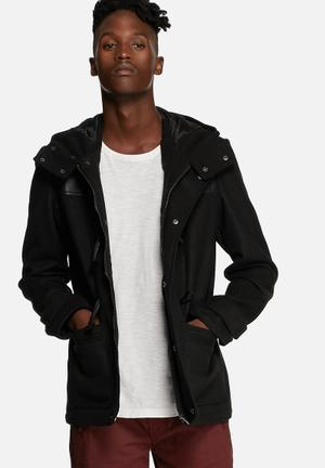 Dstruct Tulpon Duffle Jacket Black