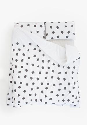 Zana X Superbalist Dots Duvet Cover Bedding 250TC Cotton Percale