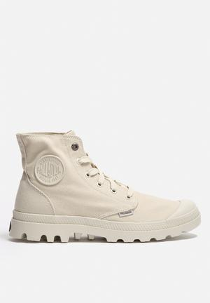 Palladium Mono Chrome Boots Ivory