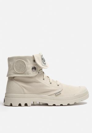 Palladium Mono Chrome Baggy Boots Ivory