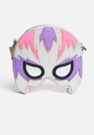Skinnydip Superhero Clutch Bags & Purses Pink