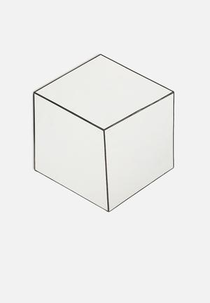 My Workshop Cube Mirror Accessories Mirror With Black Lead