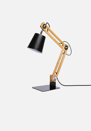 City table lamp