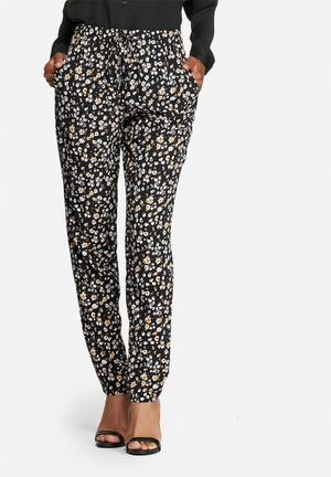 ONLY Nova Lux 70ies Pants Trousers Black