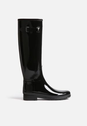 Hunter Original Refined Gloss Boots Black