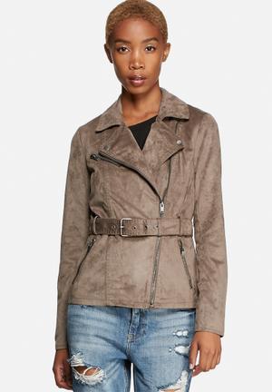 Rhoda Faux Suede Jacket