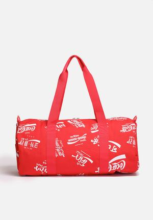 Herschel Supply Co. Coca-Cola & Herchel Sparwood Bags & Wallets Red