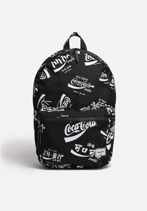 Herschel Supply Co. Coca-Cola & Herchel Lawson Bags & Wallets Black