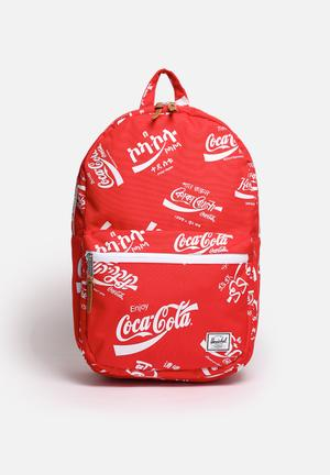 Herschel Supply Co. Coca-Cola & Herchel Lawson Bags & Wallets Red