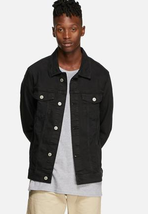 Jack & Jones Jeans Intelligence Jean Jacket SC 975 Black Denim