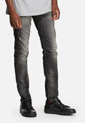 Jack & Jones Jeans Intelligence Glenn Slim Fit Jeans Black Denim