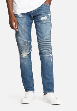 Jack & Jones Jeans Intelligence Glenn Slim Ryder Jeans Blue Denim
