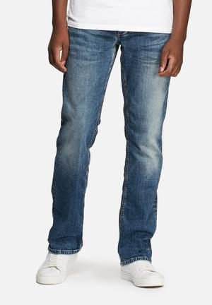Jack & Jones Jeans Intelligence Clark Regular Original Jeans Denim Blue