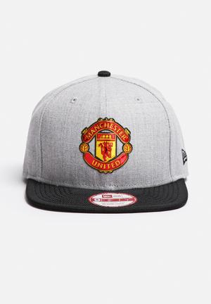 New Era 950 Heather Man Utd Headwear Grey