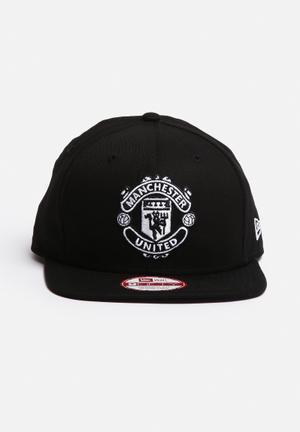 New Era 950 Mono Man Utd Headwear Black