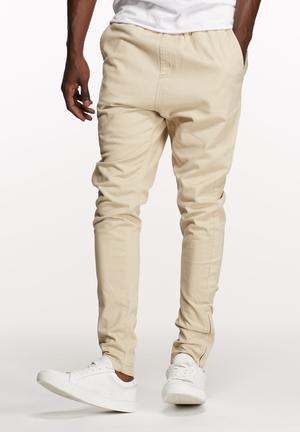 Basicthread Deco Pants Stone