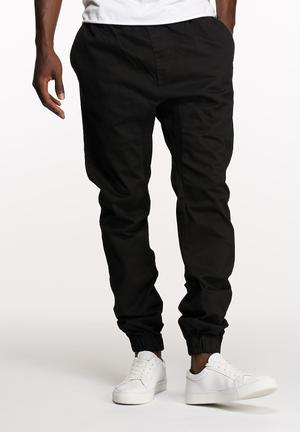 Basicthread Blaze Jogger Pants & Chinos Black