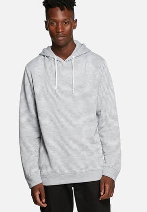 Jack & Jones CORE Roy Sweat Hood Hoodies & Sweatshirts Grey