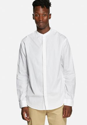 Only & Sons Abe Slim Shirt White
