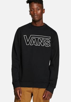 Vans Classic Crew Hoodies & Sweatshirts Black