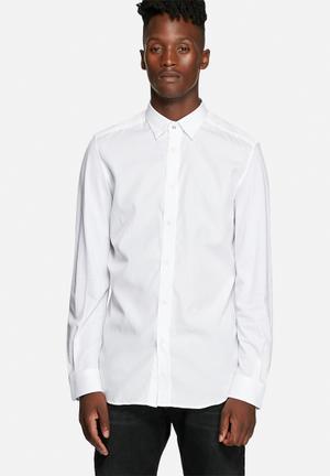 Diesel  S - Tod Shirt White