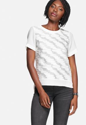 Vero Moda Vigga Top Blouses White