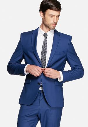 Selected Homme Logan Blazer Jackets & Coats Blue