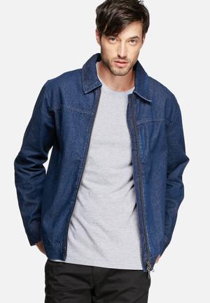 ADPT. Eddie Denim Jacket Medium Blue Denim