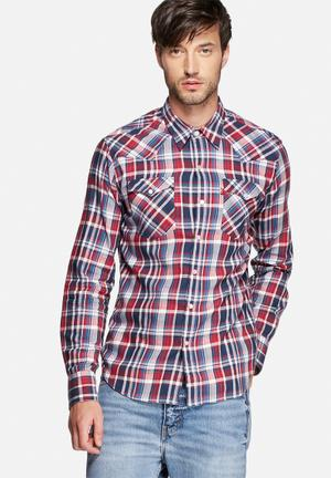 Levi's® Barstow Western Shirts Gerle Red