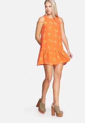 Honey Bee Drop Waist Dress