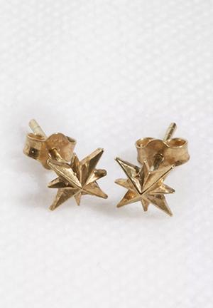 Bennt Nautical Star Earring Jewellery Gold