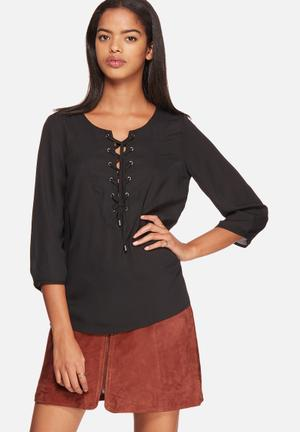 ONLY Smilla String Top Blouses Black