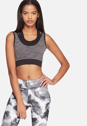 ONLY Play Jaquelyn Seamless Sports Bra Grey Melange