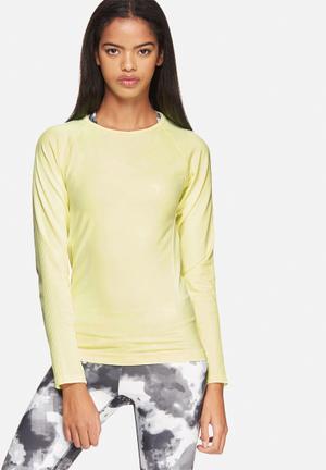 ONLY Play Suko Seamless Training Tee T-Shirts Neon Yellow