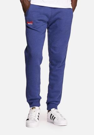 Superdry. Orange Label Slim Jogger Sweatpants & Shorts Columbia Blue
